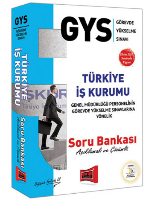 Yargı GYS Türkiye İş Kurumu Açıklamalı ve Çözümlü Soru Bankası