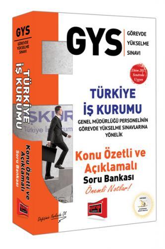 Yargı GYS Türkiye İş Kurumu Konu Özetli Açıklamalı Soru Bankası
