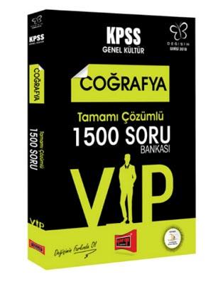 Yargı KPSS Değişim Serisi VIP Coğrafya Tamamı Çözümlü 1500 Soru Bankası 2018