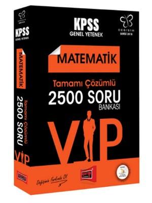 Yargı KPSS Değişim Serisi VIP Matematik Tamamı Çözümlü 2500 Soru Bankası 2018