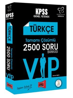 Yargı KPSS Değişim Serisi VIP Türkçe Tamamı Çözümlü 2500 Soru Bankası 2018
