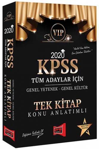 Yargı Yayınları 2020 KPSS VIP Tüm Adaylar İçin Genel Yetenek Genel Kül