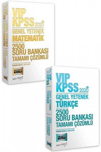 2 li SET Yargı Yayınları 2020 KPSS VIP Genel Yetenek Tamamı Çözümlü 5000 Soru Seti