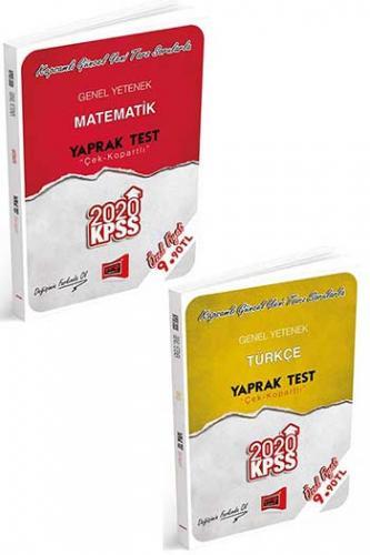 Yargı Yayınları 2020 KPSS Genel Yetenek Çek Kopartlı Yaprak Test Seti