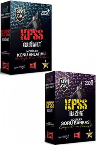 Yargı Yayınları 2020 KPSS GY-GK Modüler Konu Anlatımlı Soru Bankası Se