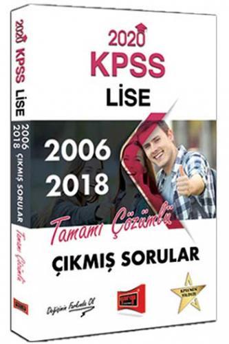 Yargı Yayınları 2020 KPSS Lise 2006-2018 Tamamı Çözümlü Çıkmış Sorular
