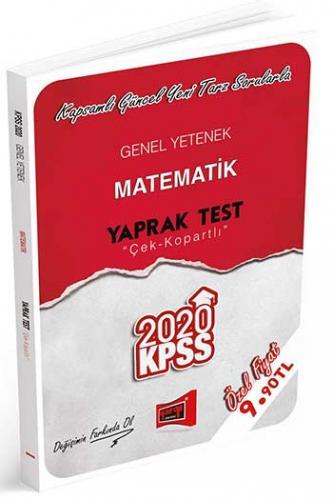 Yargı Yayınları 2020 KPSS Genel Yetenek Matematik Çek Kopartlı Yaprak