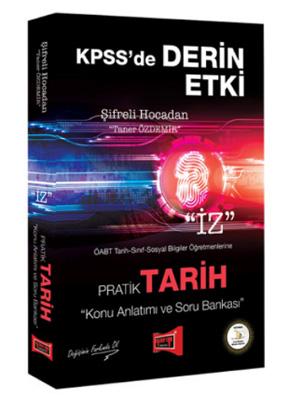 Yargı KPSS ÖABT Şifreli Hocadan Pratik Tarih Konu Anlatımı ve Soru Bankası 2018