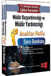 Yargı MEB Müdür Başyardımcılığı ve Müdür Yardımcılığı Anahtar Notlu Soru Bankası 2016