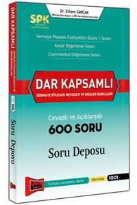 Yargı SPK Dar Kapsamlı Sermaye Piyasası Mevzuatı ve Meslek Kuralları Cevaplı ve Açıklamalı 600 Soru Deposu