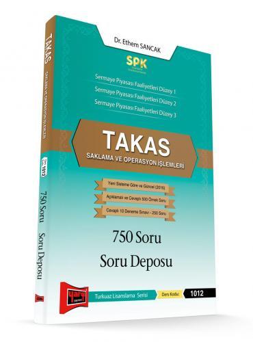 Yargı SPK Takas Saklama ve Operasyon İşlemleri 750 Soru Soru Deposu