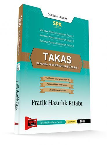 Yargı SPK Takas Saklama ve Operasyon İşlemleri Pratik Hazırlık Kitabı