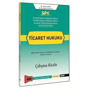 Yargı SPK Ticaret Hukuku Çalışma Kitabı - Resul Ceviz