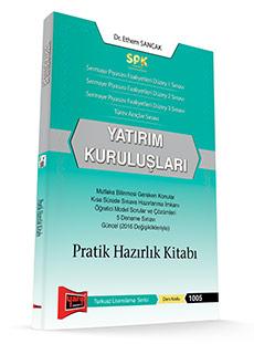 Yargı SPK Yatırım Kuruluşları Pratik Hazırlık Kitabı