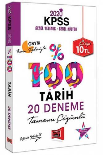 Yargı Yayınları 2020 KPSS Tarih Tamamı Çözümlü 20 Deneme %0 indirimli