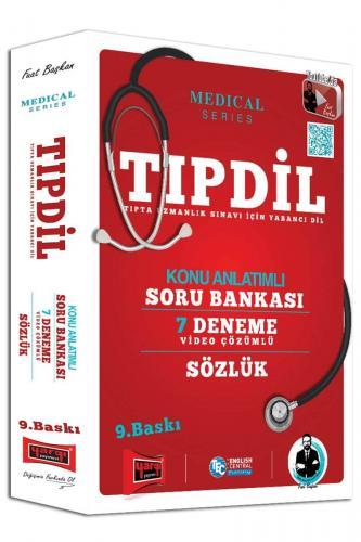 Yargı TIPDİL Tıpta Uzmanlık Sınavı için Yabancı Dil Kazandıran Set - 3 Kitap
