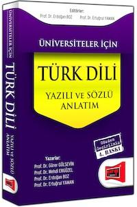 Yargı Üniversiteler İçin Türk Dili - Sözlü ve Yazılı Anlatım