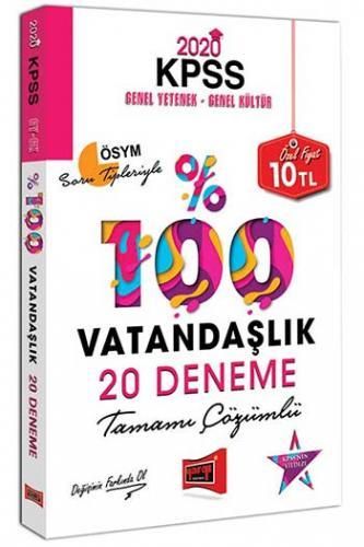 Yargı Yayınları 2020 KPSS Vatandaşlık Tamamı Çözümlü 20 Deneme %0 indi