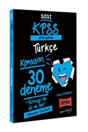 Yargı Yayınları 2021 KPSS Genel Yetenek Türkçe Konuşan 30 Deneme Ersen
