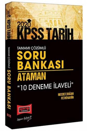 Yargı Yayınları 2020 KPSS Ataman Tarih Tamamı Çözümlü Soru Bankası Ko