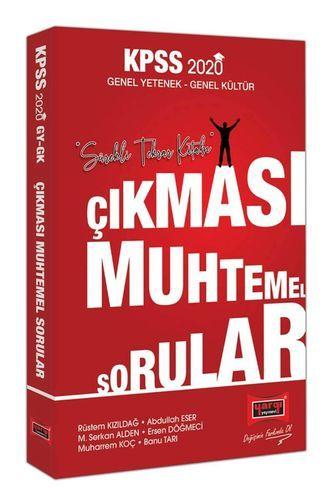 KELEPİR Yargı Yayınları 2020 KPSS Genel Yetenek Genel Kültür Çıkması M