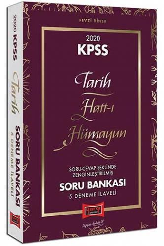 Yargı Yayınları 2020 KPSS Hatt-ı Hümayun Tarih Çözümlü Soru Bankası 5 Deneme İlaveli