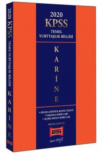 Yargı Yayınları 2020 KPSS Karine Temel Yurttaşlık Bilgisi Konu Özetli Soru Bankası