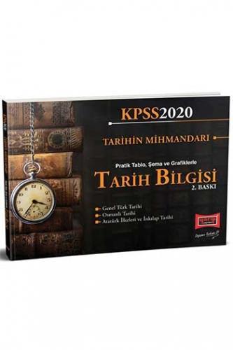 Yargı Yayınları 2020 KPSS Tarih Bilgisi Pratik Tablo, Şema ve Grafikle
