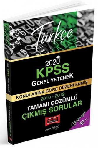 Yargı Yayınları 2020 KPSS Türkçe Konularına Göre Düzenlenmiş Tamamı Çözümlü Çıkmış Sorular