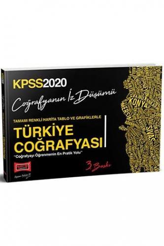 Yargı Yayınları 2020 KPSS Türkiye Coğrafyası Tamamı Renkli Harita Tabl