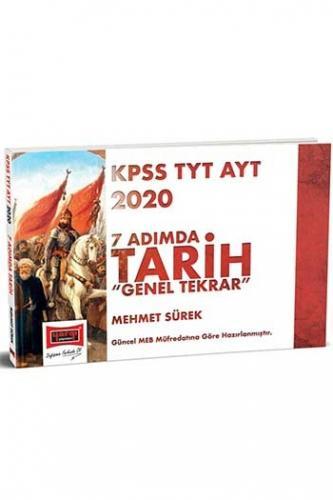 Yargı Yayınları 2020 KPSS TYT AYT 7 Adımda Tarih Genel Tekrar %45 ind