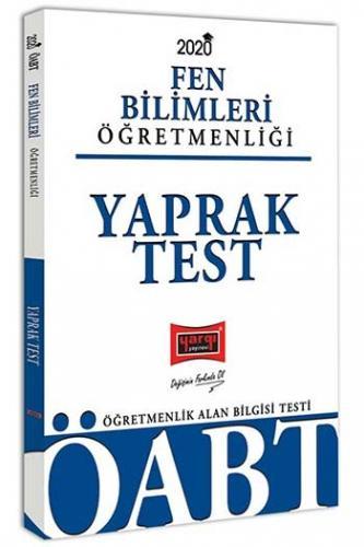 Yargı Yayınları 2020 ÖABT Fen Bilimleri Öğretmenliği Yaprak Test
