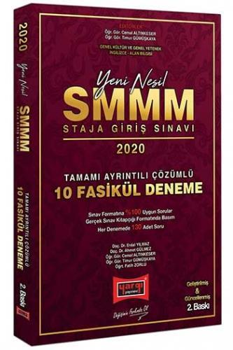 Yargı Yayınları 2020 SMMM Staja Giriş Sınavı Tamamı Ayrıntılı Çözümlü 10 Fasikül Deneme