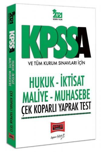Yargı Yayınları 2021 KPSS A Grubu ve Tüm Kurum Sınavları İçin Hukuk-İk