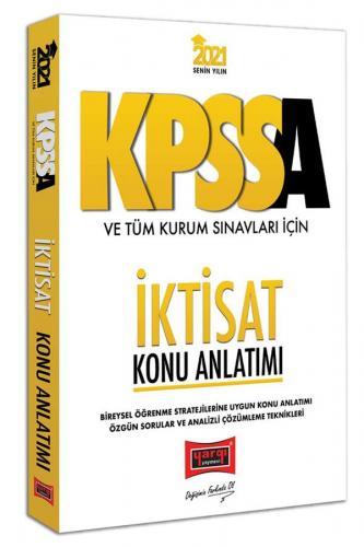 Yargı Yayınları 2021 KPSS A Grubu ve Tüm Kurum Sınavları İçin İktisa