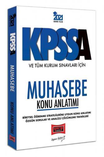 Yargı Yayınları 2021 KPSS A Grubu ve Tüm Kurum Sınavları İçin Muhase