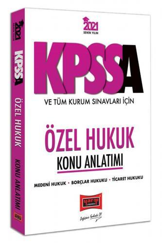 Yargı Yayınları 2021 KPSS A Grubu ve Tüm Kurum Sınavları İçin Özel Hu