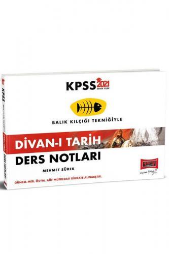 Yargı Yayınları 2021 KPSS Divan-ı Tarih Ders Notları Mehmet Sürek