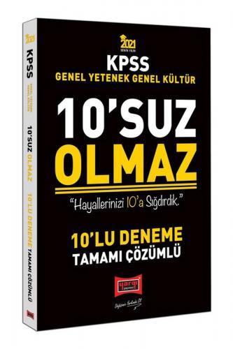 Yargı Yayınları 2021 KPSS Genel Yetenek Genel Kültür 10'suz Olmaz Ta