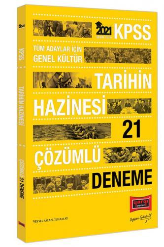 Yargı Yayınları 2021 KPSS Genel Kültür Tarihin Hazinesi Çözümlü 21 Den