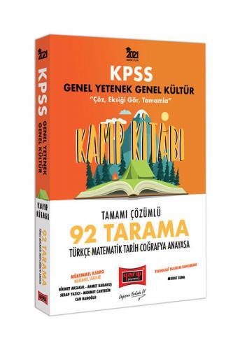 Yargı Yayınları 2021 KPSS GY GK Kamp Kitabı 92 Tarama Tamamı Çözümlü S