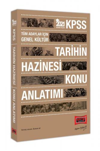 Yargı Yayınları 2021 KPSS Tarihin Hazinesi Konu Anlatımı Veysel Asla