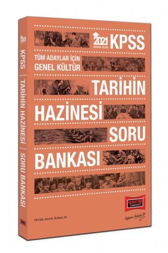 Yargı Yayınları 2021 KPSS Tarihin Hazinesi Soru Bankası Veysel Aslan