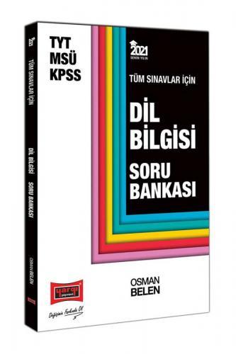 Yargı Yayınları 2021 KPSS TYT MSÜ Dil Bilgisi Soru Bankası Osman Bele