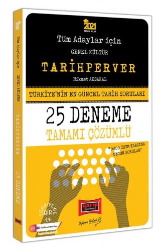 Yargı Yayınları 2021 Tüm Adaylar İçin TARİHPERVER Tamamı Çözümlü 25