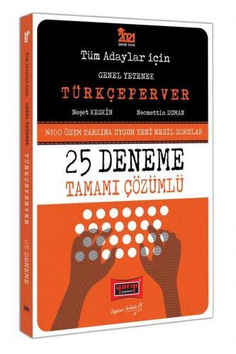 Yargı Yayınları 2021 Tüm Adaylar İçin TÜRKÇEPERVER Tamamı Çözümlü 25