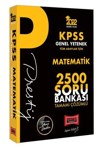 Yargı Yayınları 2022 KPSS Genel Yetenek Matematik Prestij Seri Tamamı