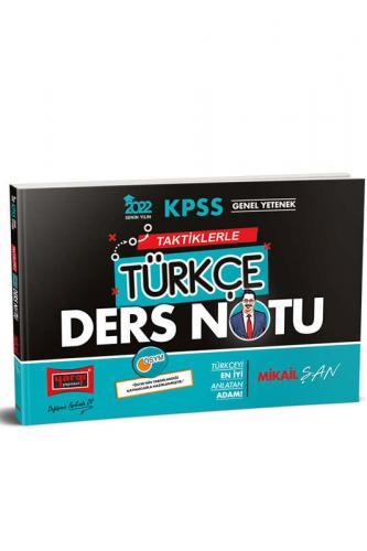 Yargı Yayınları 2022 KPSS Genel Yetenek Taktiklerle Türkçe Ders Notu M