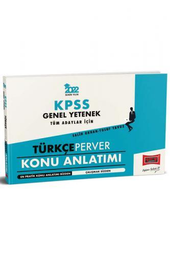 Yargı Yayınları 2022 KPSS Genel Yetenek TürkçePerver Konu Anlatımı Kom