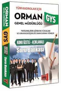 Yargı Yayınları GYS Orman Genel Müdürlüğü Konu Özetli Açıklamalı Soru
